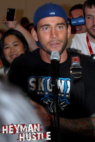 CM Punk at Comic Con 2011