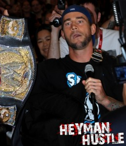 CM Punk at Comic Con 2011